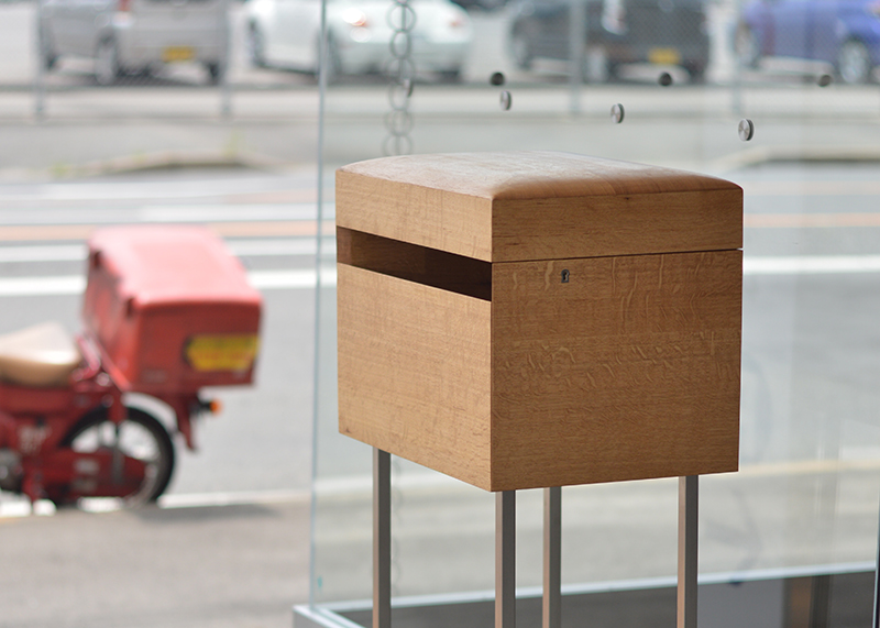 Post Box 郵便ポスト cl.山根木材本社ビル